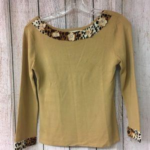 Knit blouse size S